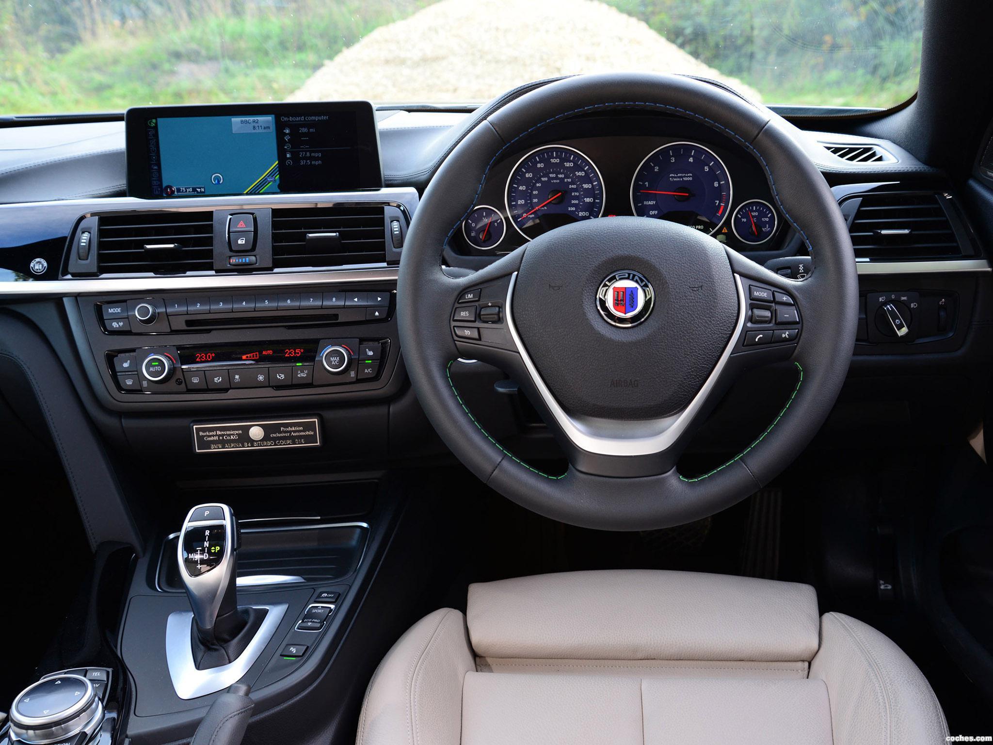 Foto 5 de BMW Alpina B4 Bi-Turbo Coupe F32 UK 2014