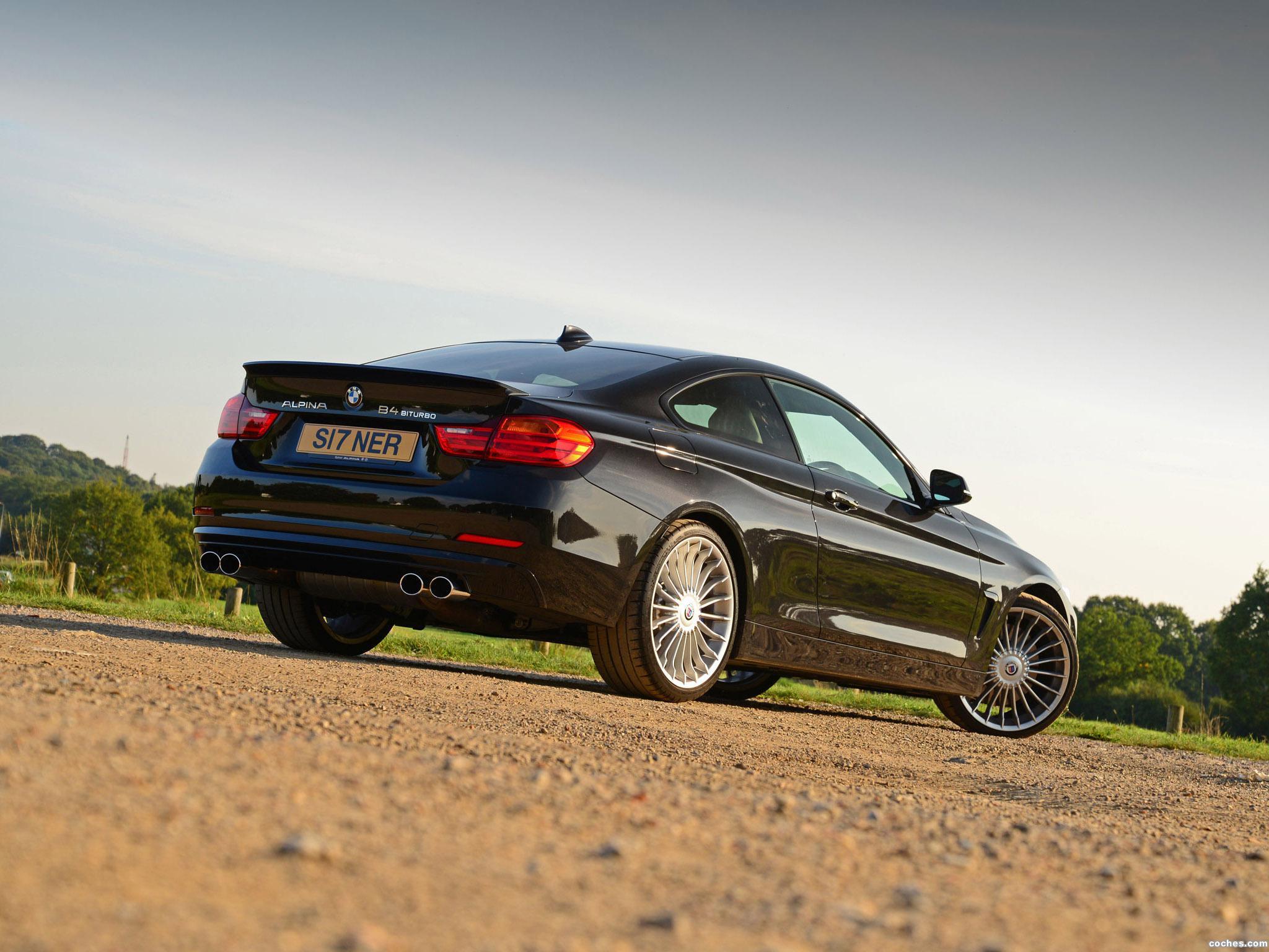 Foto 3 de BMW Alpina B4 Bi-Turbo Coupe F32 UK 2014