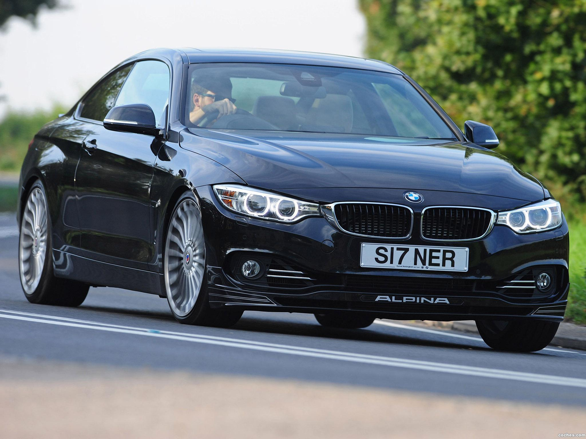 Foto 0 de BMW Alpina B4 Bi-Turbo Coupe F32 UK 2014