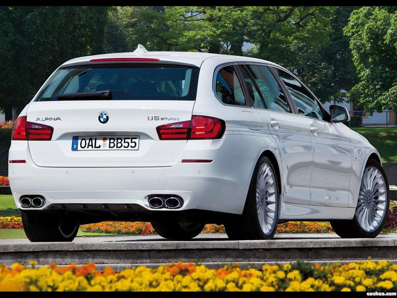 Foto 2 de BMW Alpina B5 Bi-Turbo Touring 2011