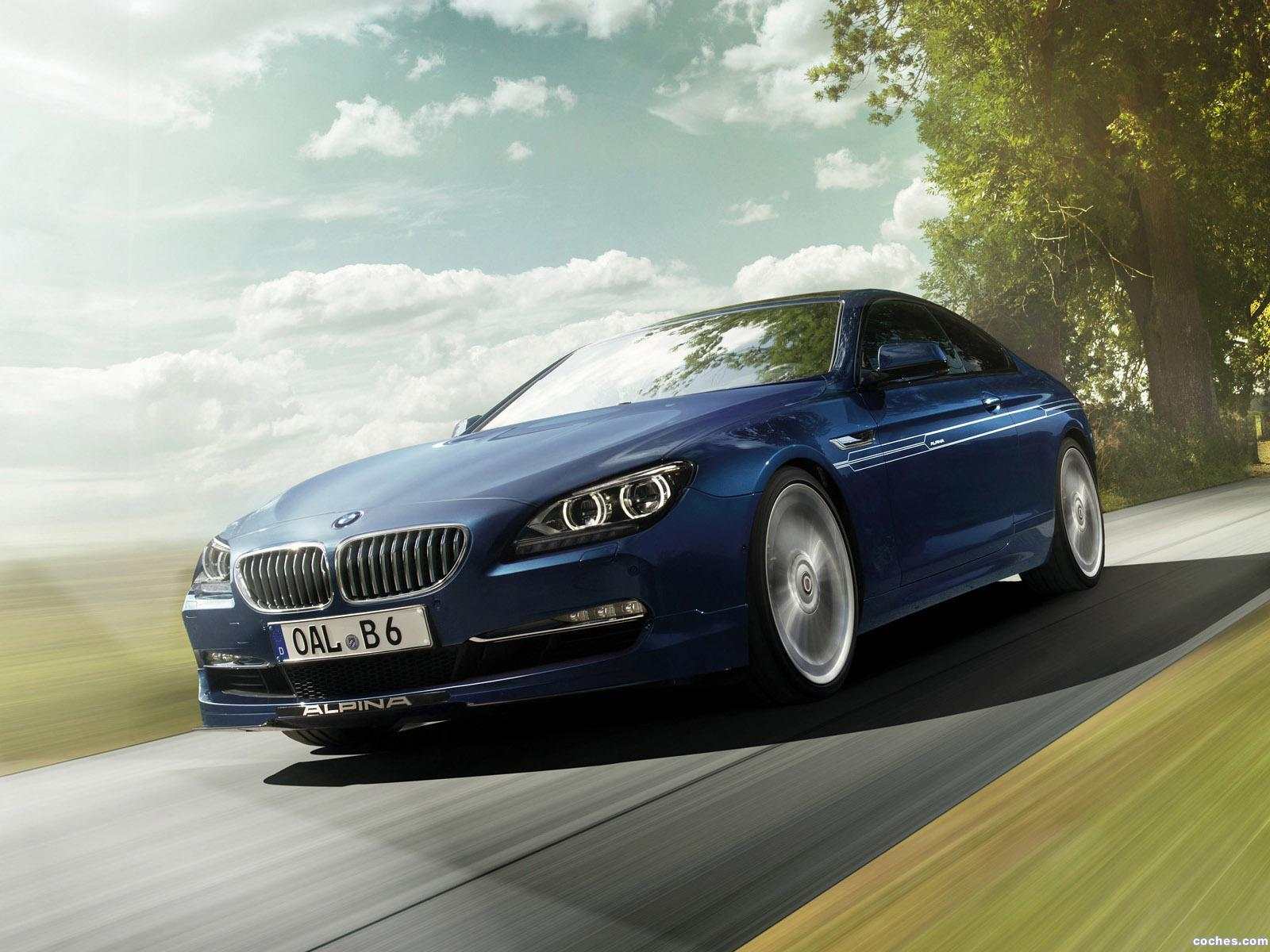 Foto 0 de BMW Alpina B6 Coupe BiTurbo 2013