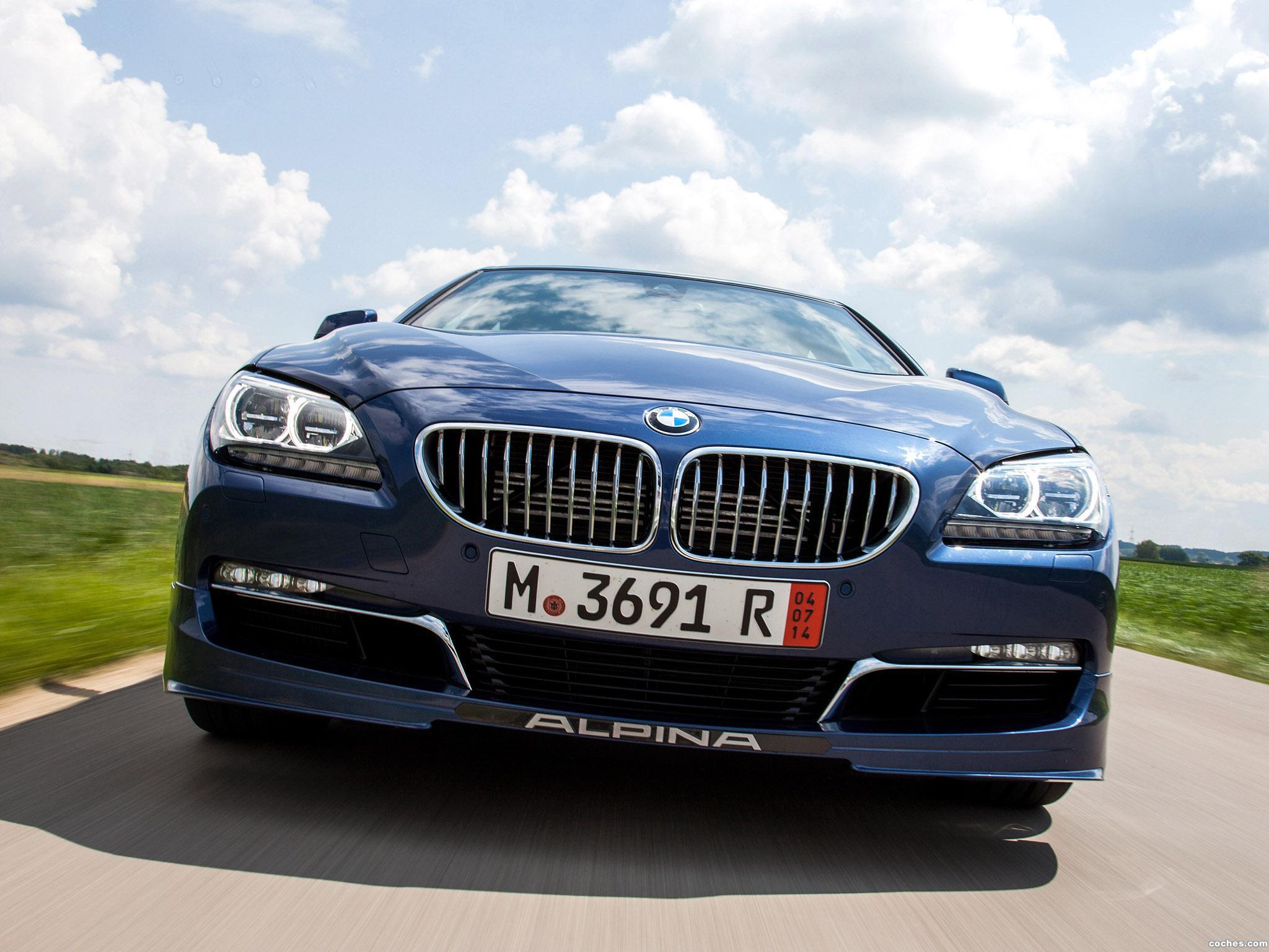 Foto 0 de BMW Alpina B6 xDrive Gran Coupe F06 USA 2014