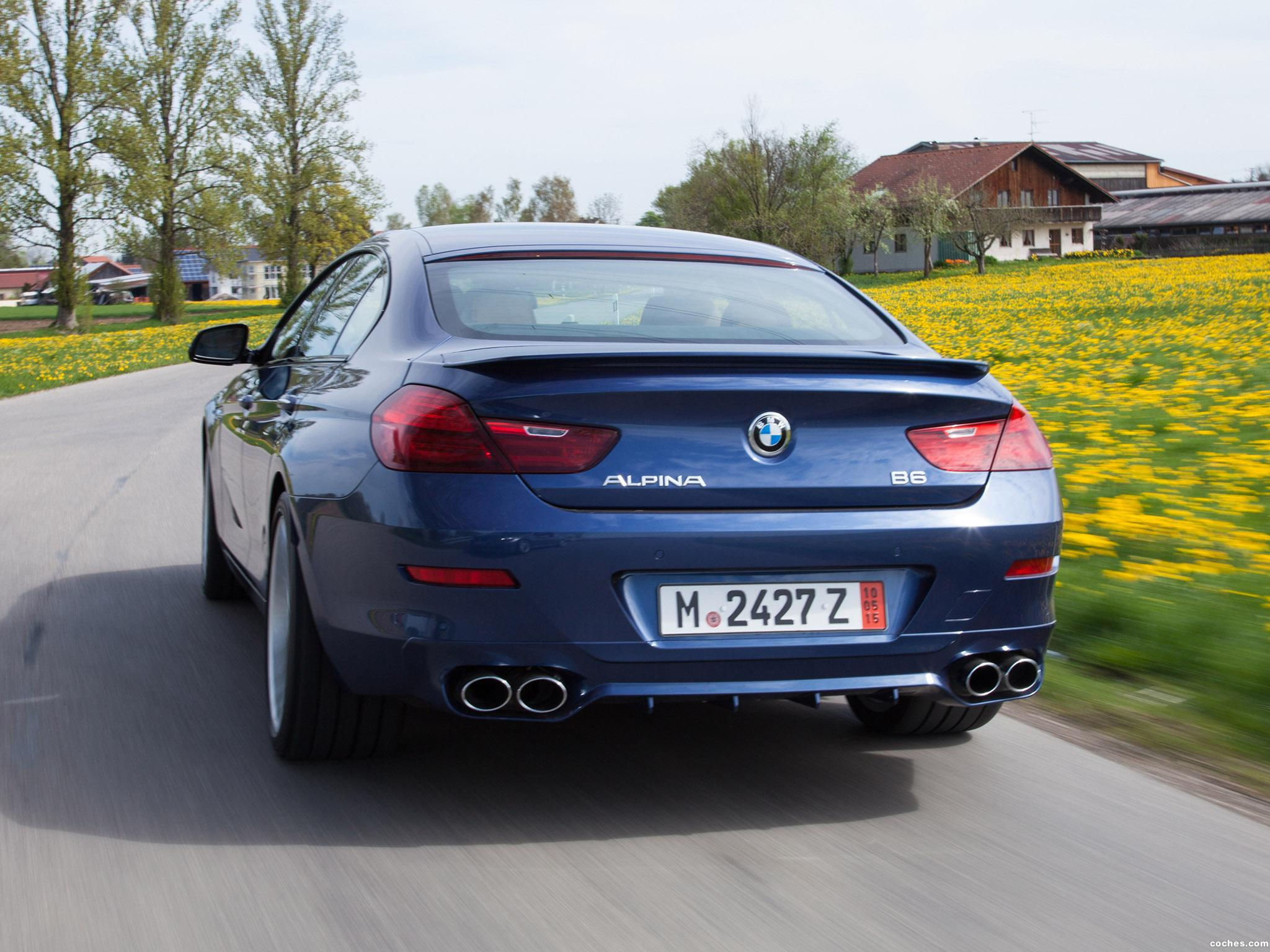 Foto 13 de BMW Alpina B6 xDrive Gran Coupe F06 USA 2015