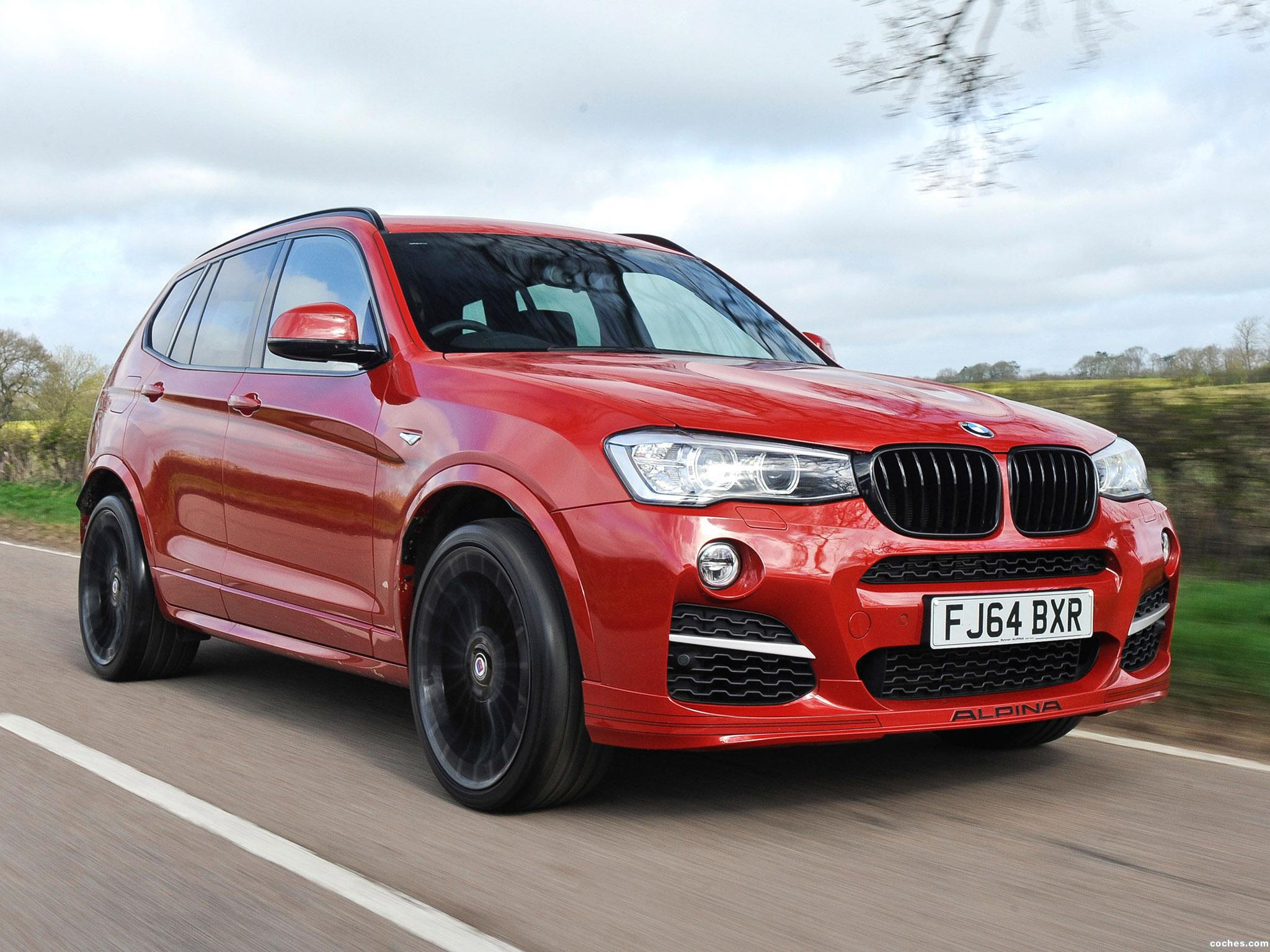 Foto 0 de Alpina XD3 Bi-Turbo F25 UK 2014
