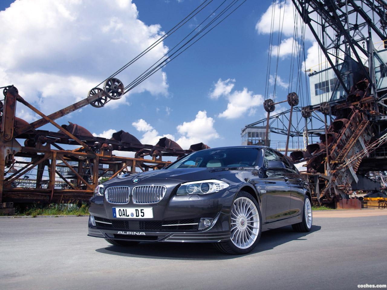 Foto 0 de BMW Alpina D5 Bi-Turbo F10 2011
