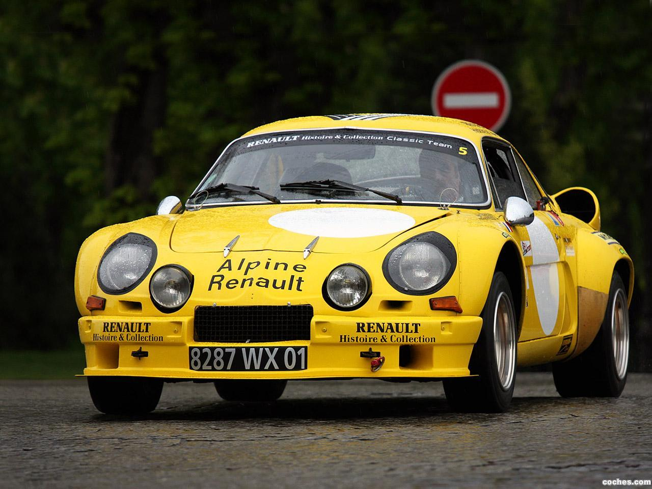 Foto 0 de Renault Alpine A110 1800 Group 4 1973