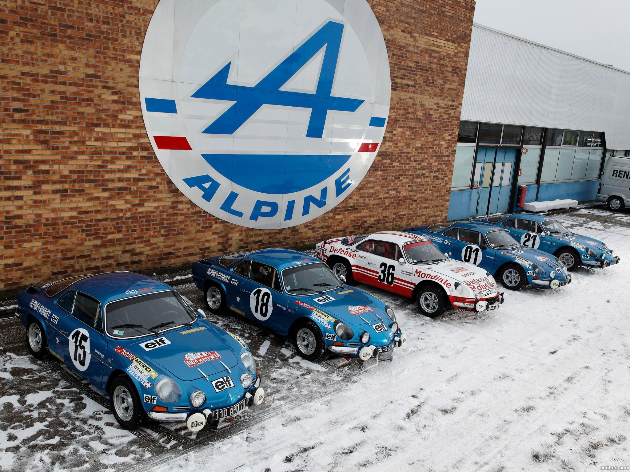 Foto 5 de Renault Alpine A110 Rally Car 1973