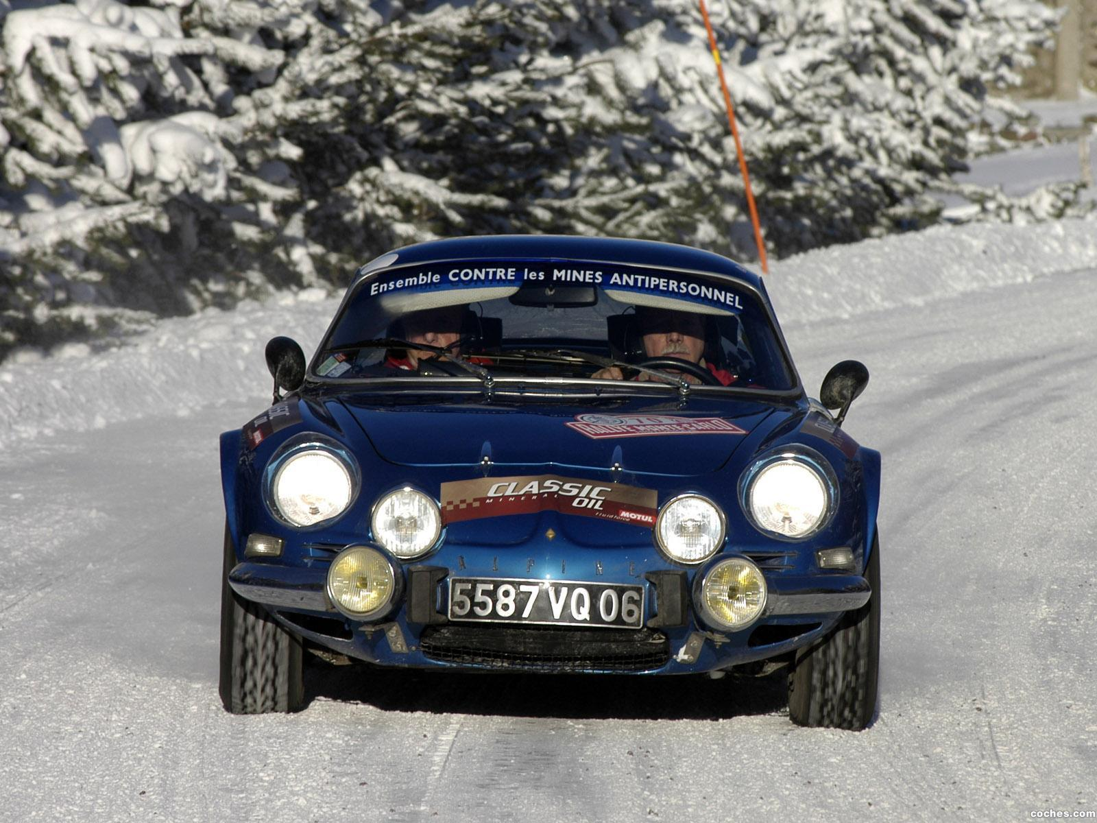 Foto 4 de Renault Alpine A110 Rally Car 1973