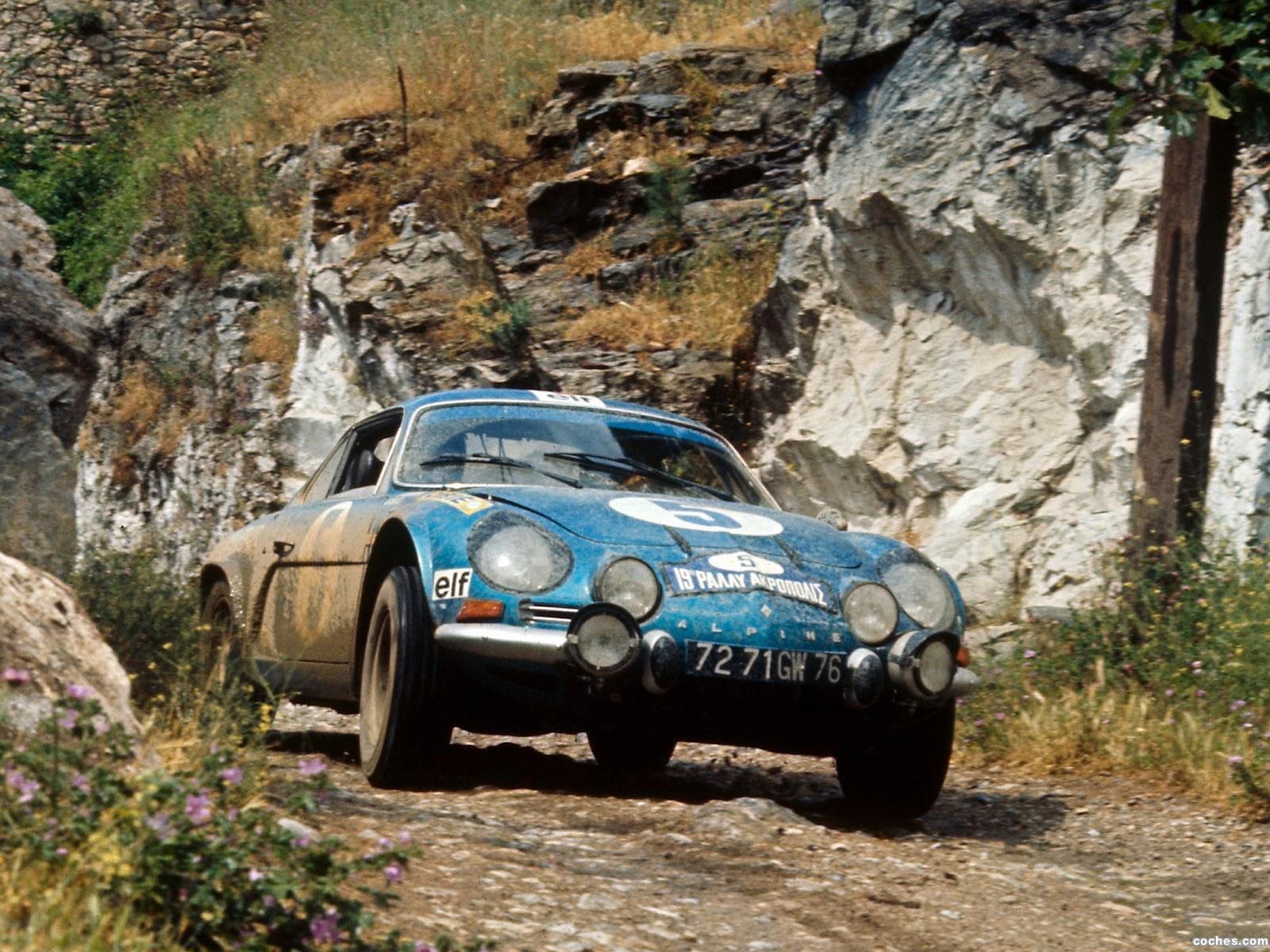 Foto 2 de Renault Alpine A110 Rally Car 1973