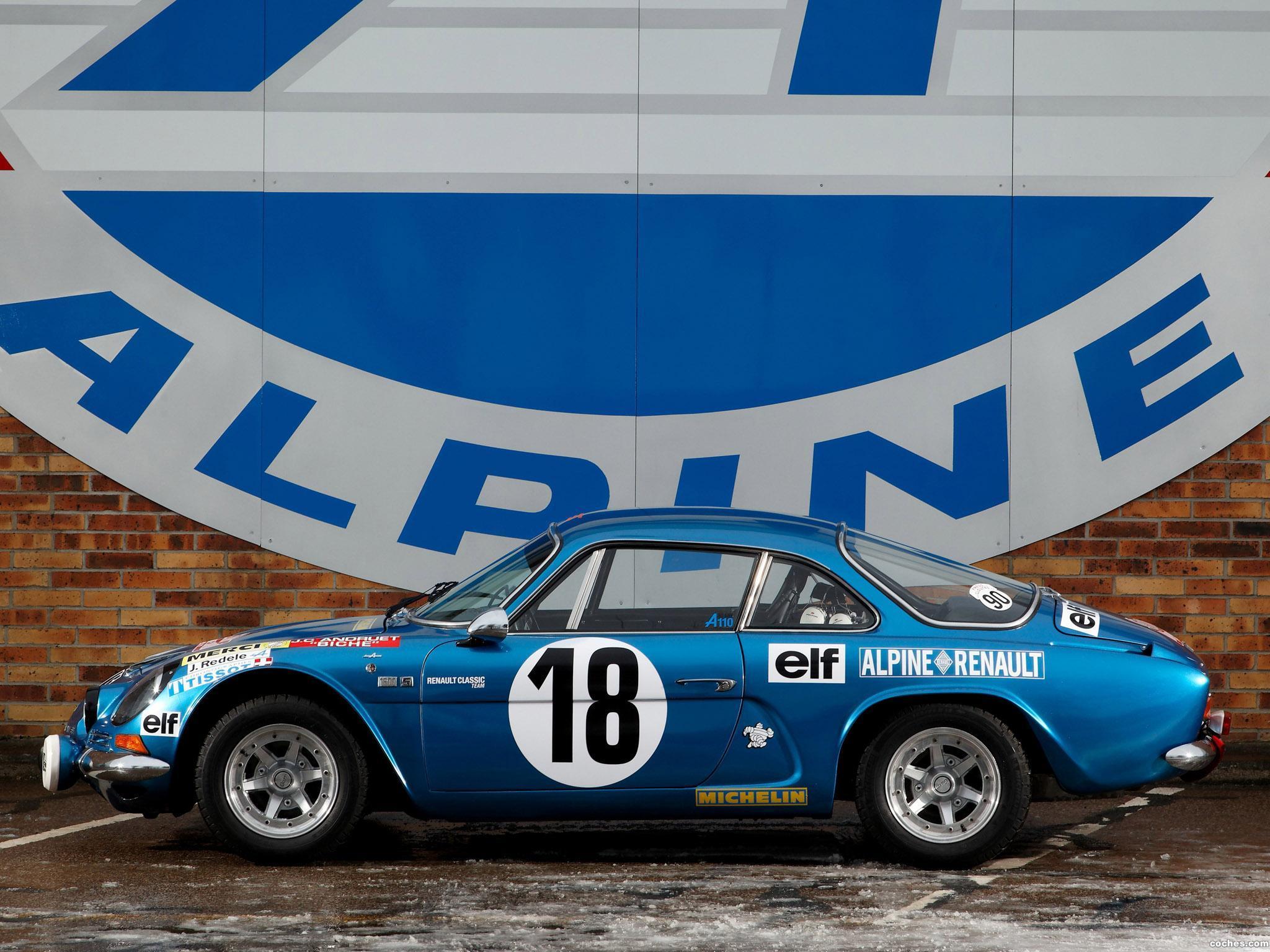 Foto 1 de Renault Alpine A110 Rally Car 1973
