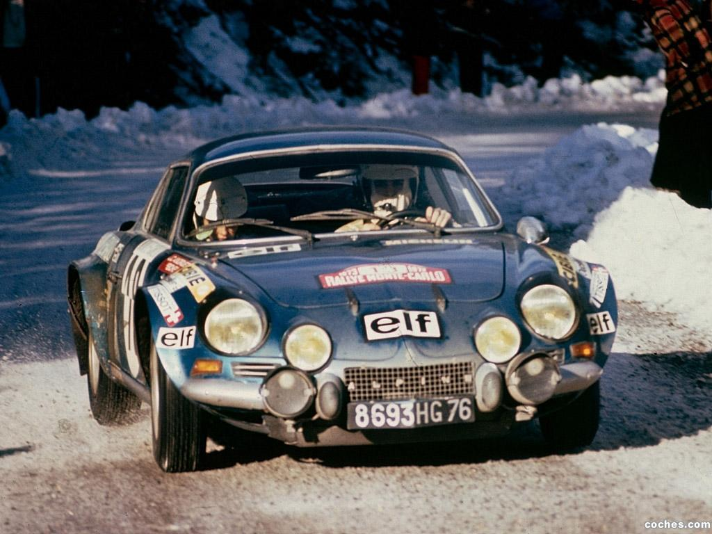 Foto 0 de Renault Alpine A110 Rally Car 1973