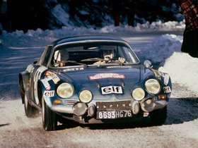 Fotos de Renault Alpine A110 Rally Car 1973
