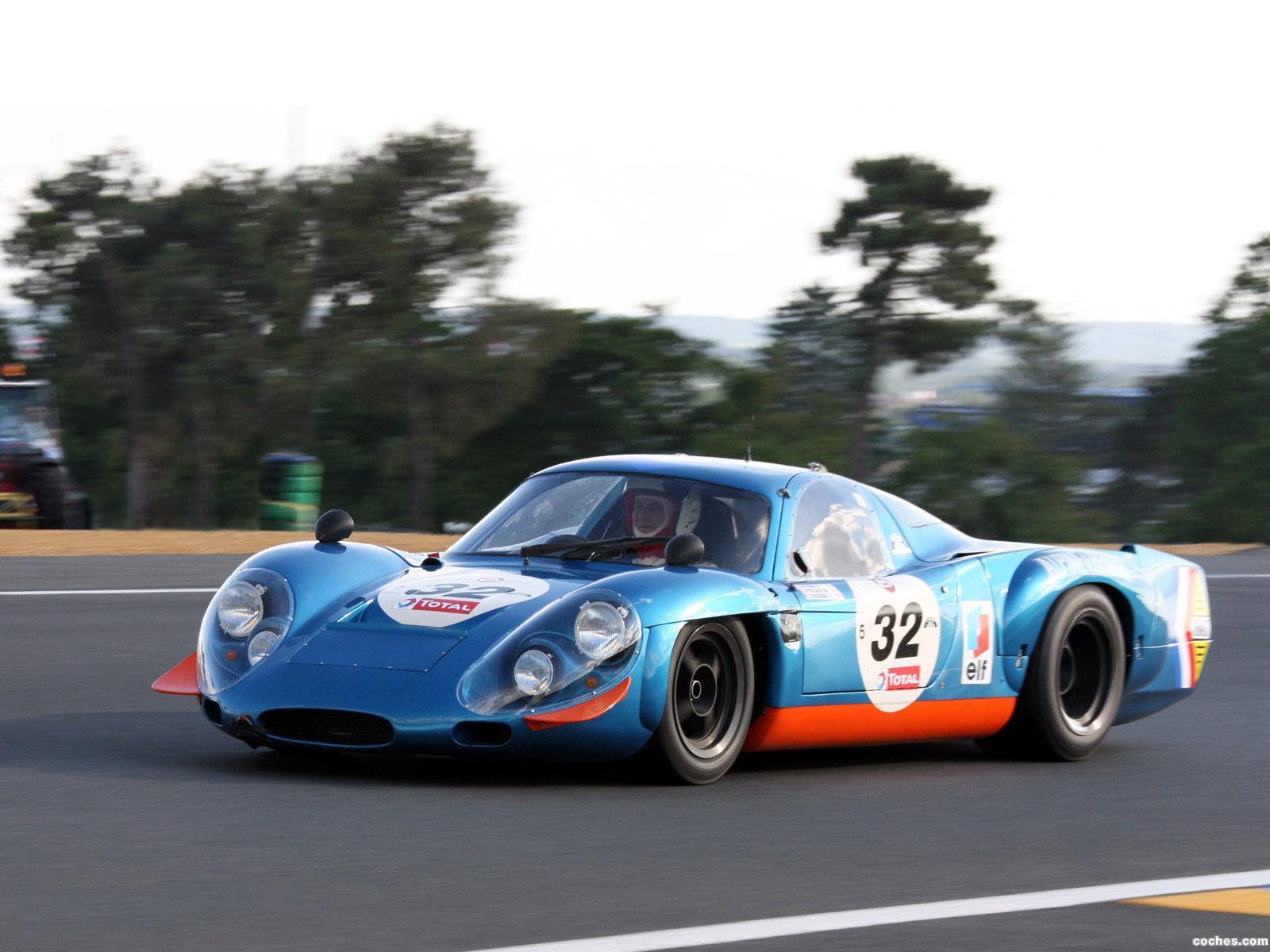 Foto 0 de Renault Alpine A210 1966