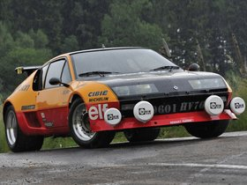 Fotos de Renault A310 V6 Group B Rally Car 1983