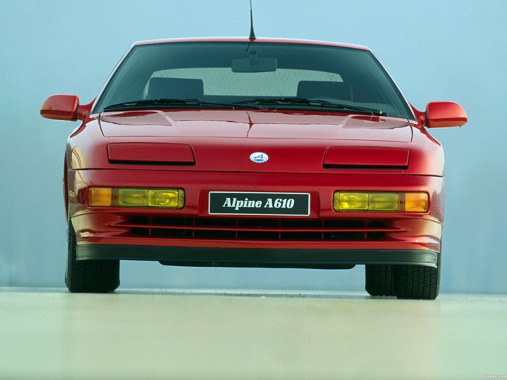 Foto 4 de Renault Alpine A610 1991