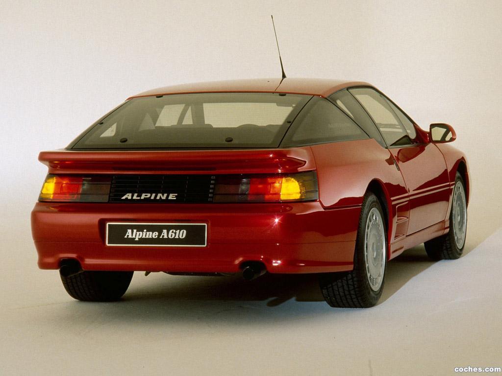 Foto 1 de Renault Alpine A610 1991
