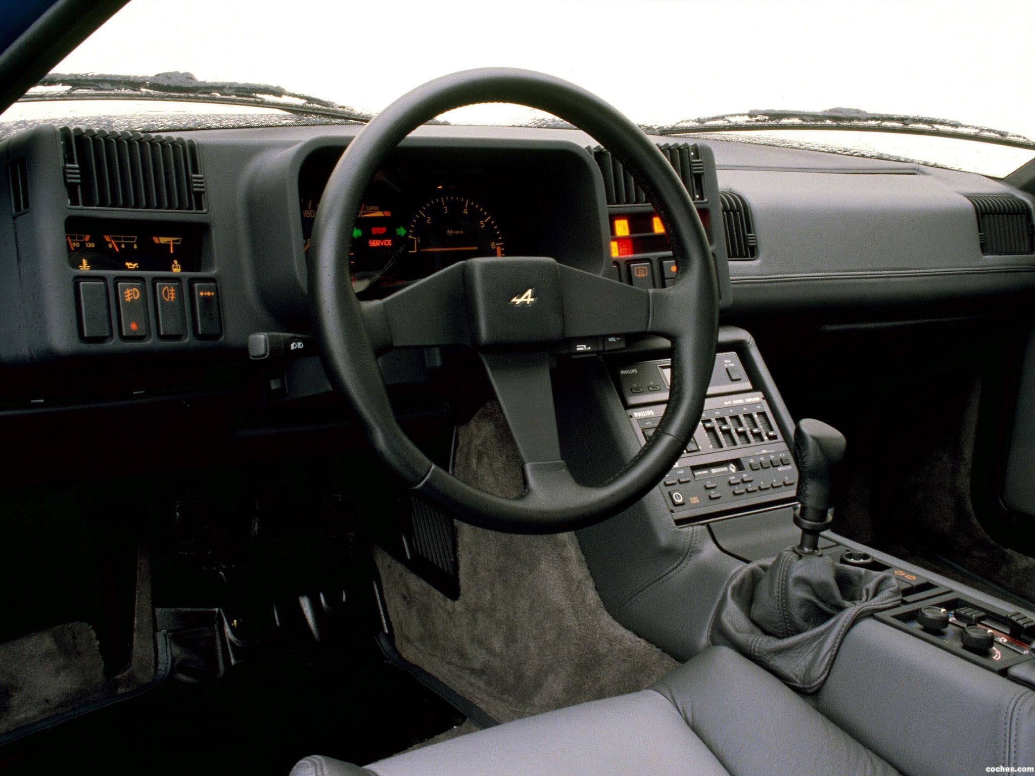 Foto 4 de Renault Alpine GTA V6 Turbo Le Mans 1990