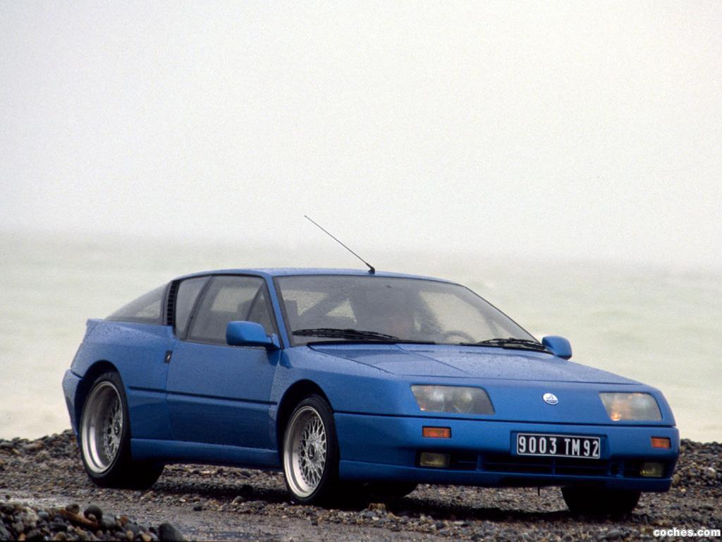 Foto 3 de Renault Alpine GTA V6 Turbo Le Mans 1990