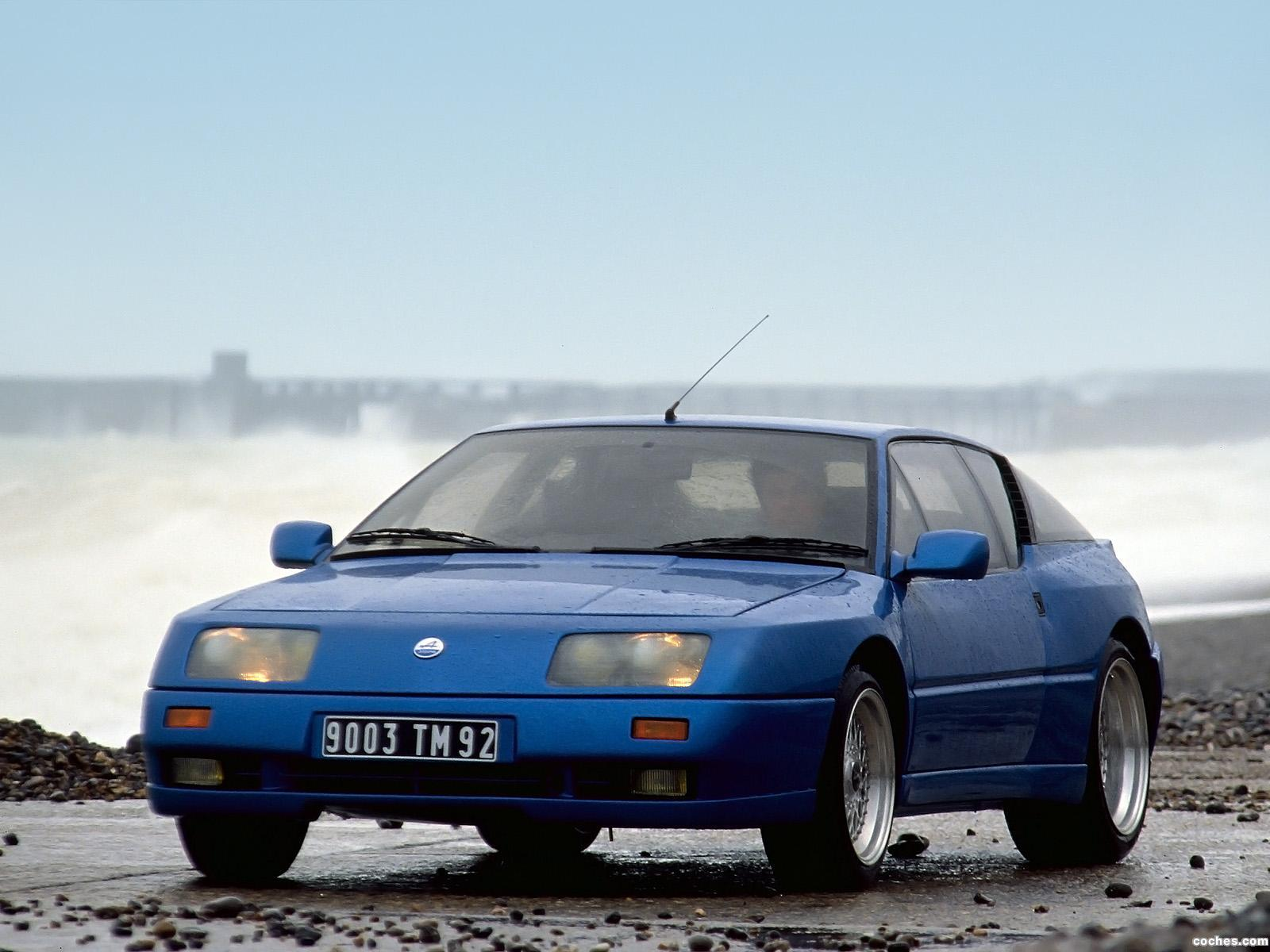 Foto 2 de Renault Alpine GTA V6 Turbo Le Mans 1990