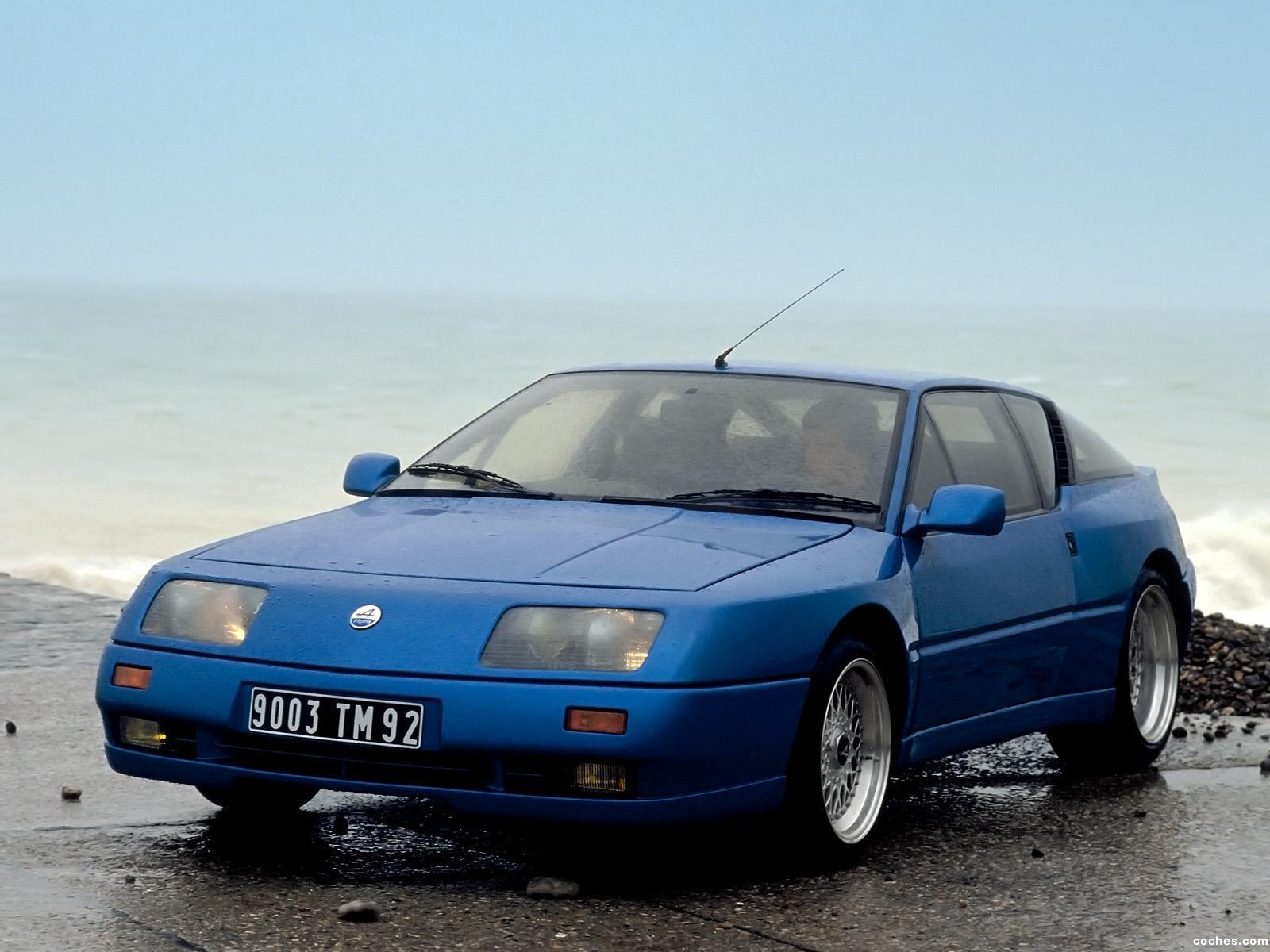 Foto 0 de Renault Alpine GTA V6 Turbo Le Mans 1990