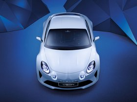 Ver foto 5 de Renault Alpine Vision Concept 2016