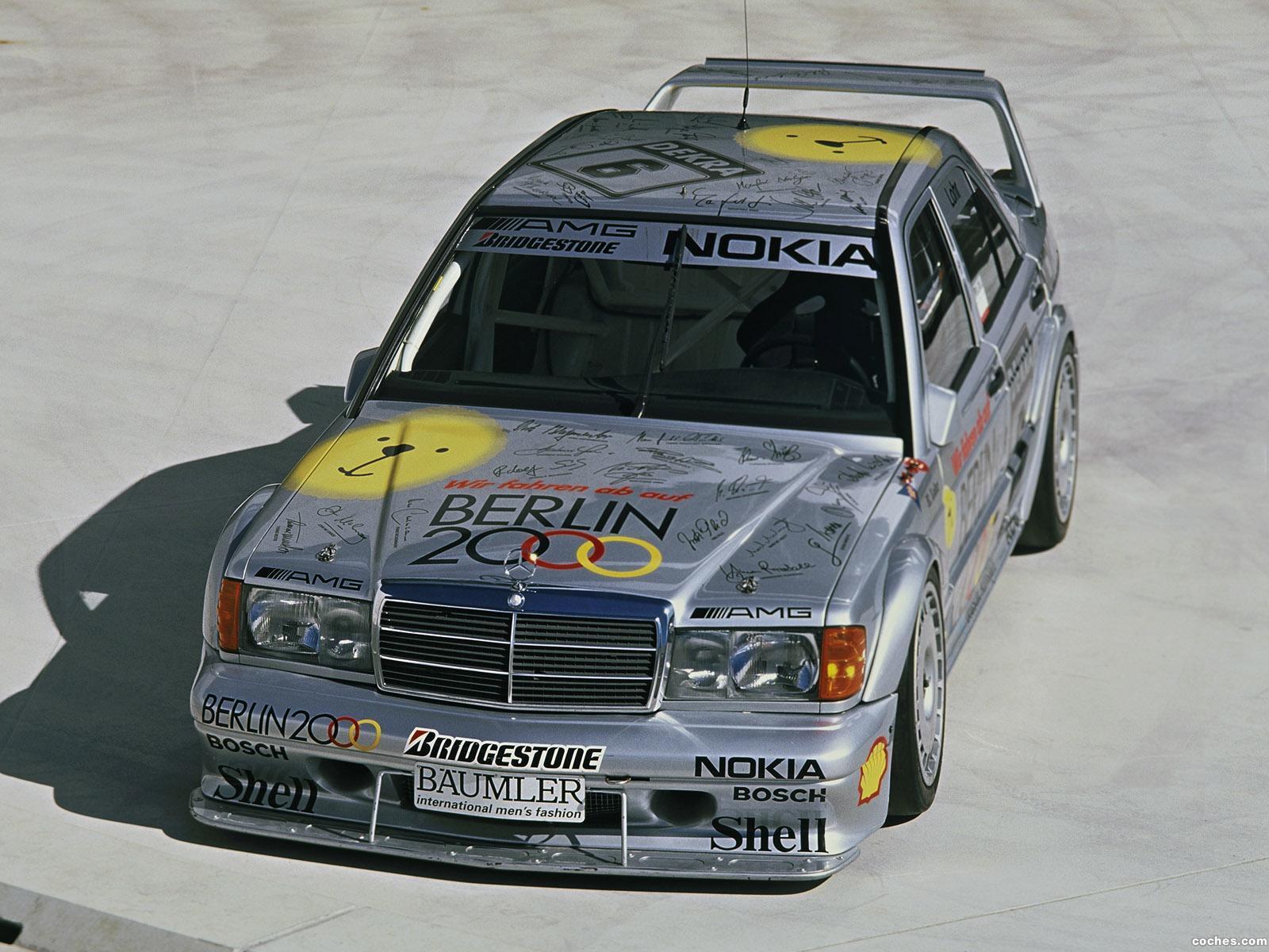 Foto 2 de Mercedes 190E 2-5 16 Evolution II DTM W201 1993