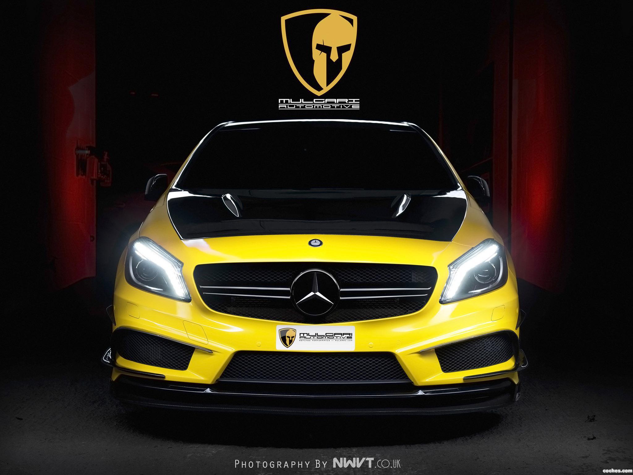 Foto 0 de Mercedes Clase A A45 AMG Mulgari Project 45 2014