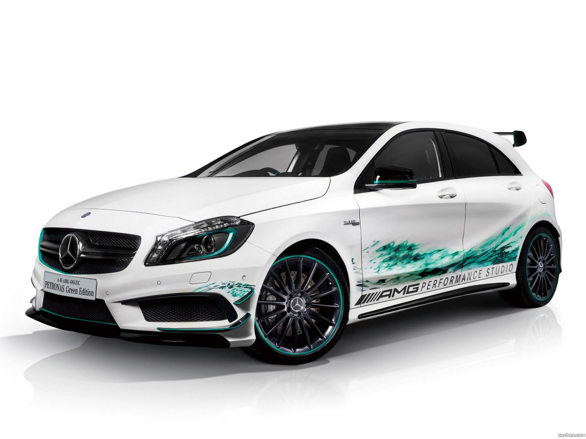 Foto 0 de Mercedes Clase A A45 AMG Petronas Green W176 2014