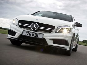 Fotos de Mercedes Clase A A45 AMG W176 UK 2013