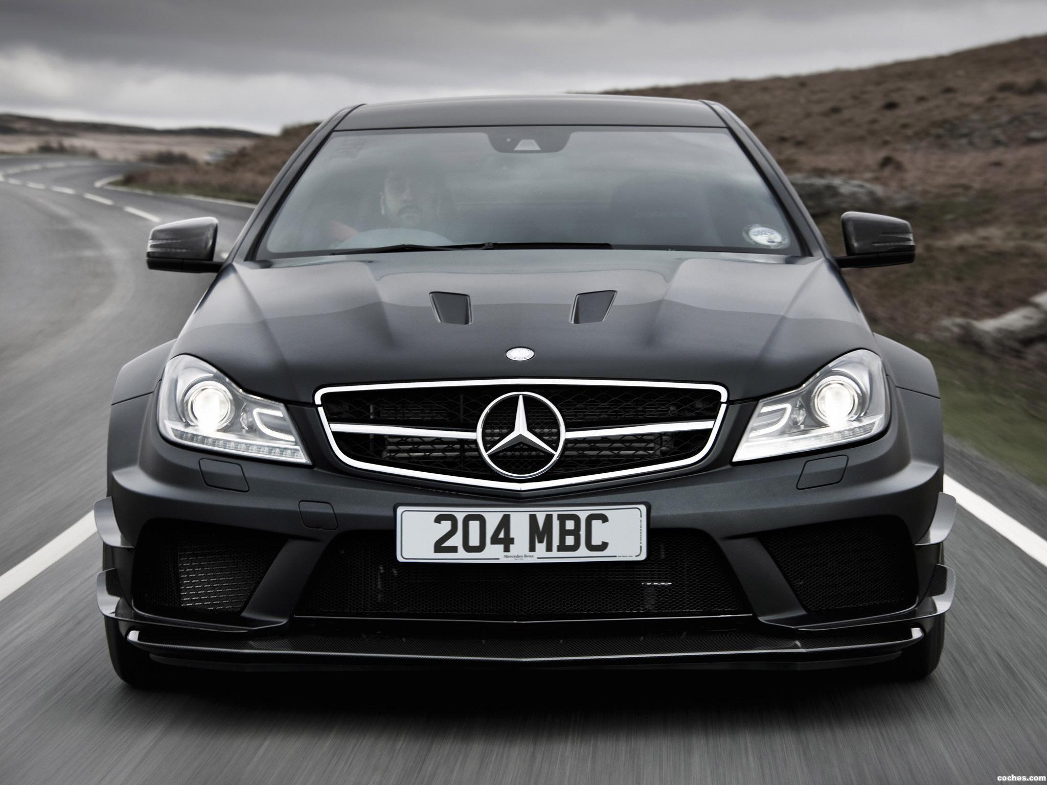 Foto 0 de Mercedes Clase C 63 AMG Black Series Coupe C204 UK 2012