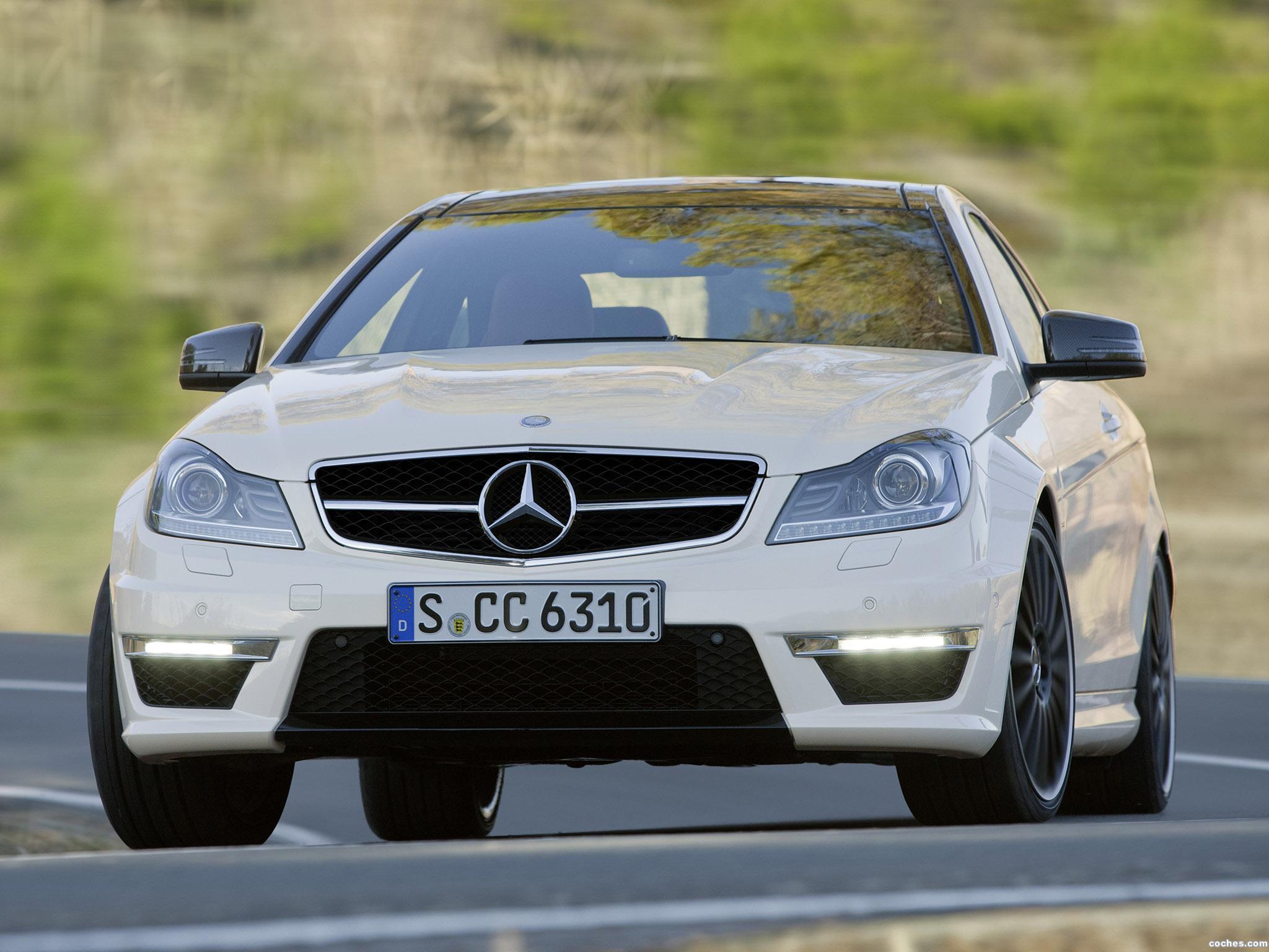 Foto 22 de Mercedes Clase C AMG C63 Coupe  2011