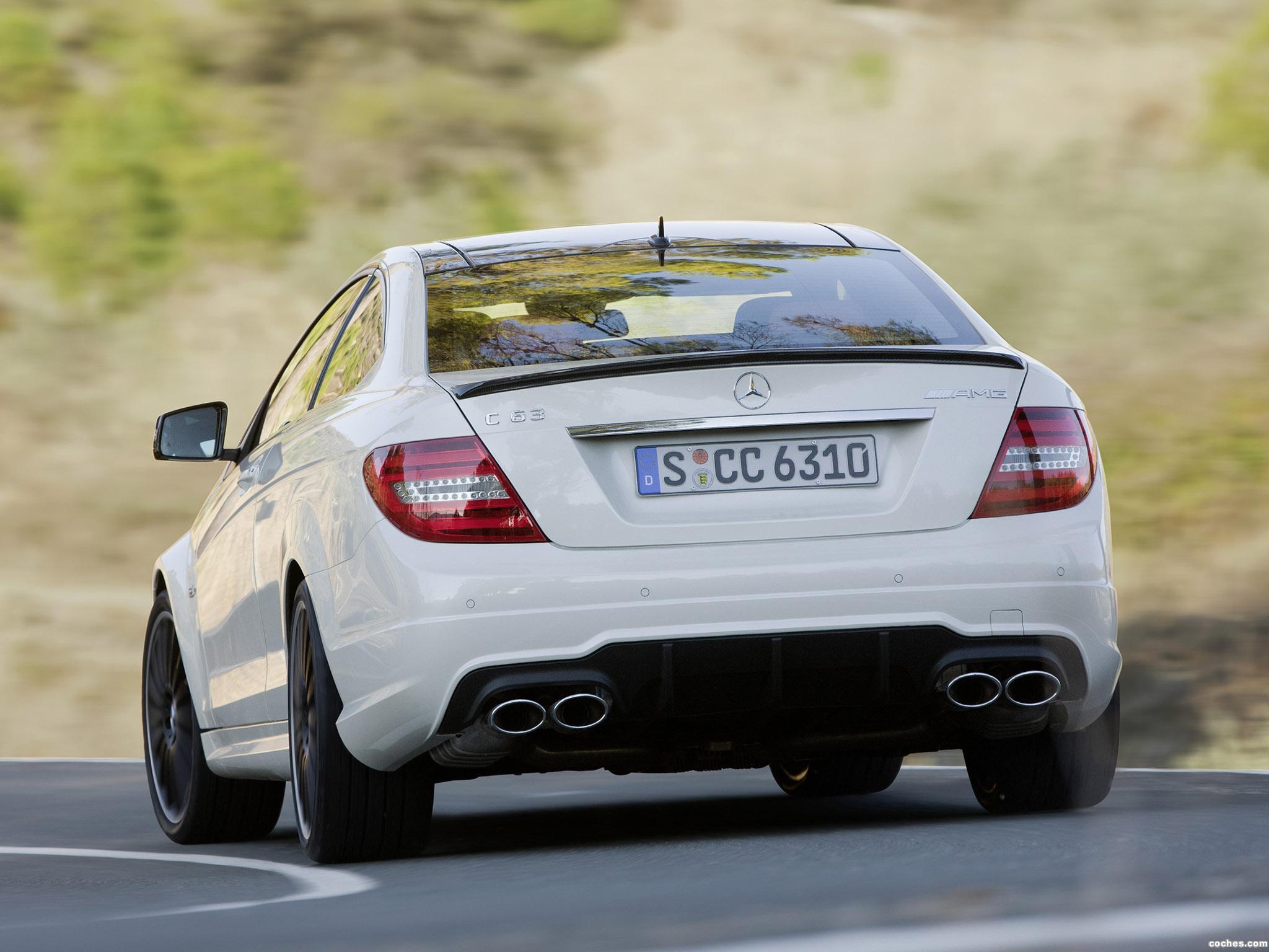 Foto 21 de Mercedes Clase C AMG C63 Coupe  2011