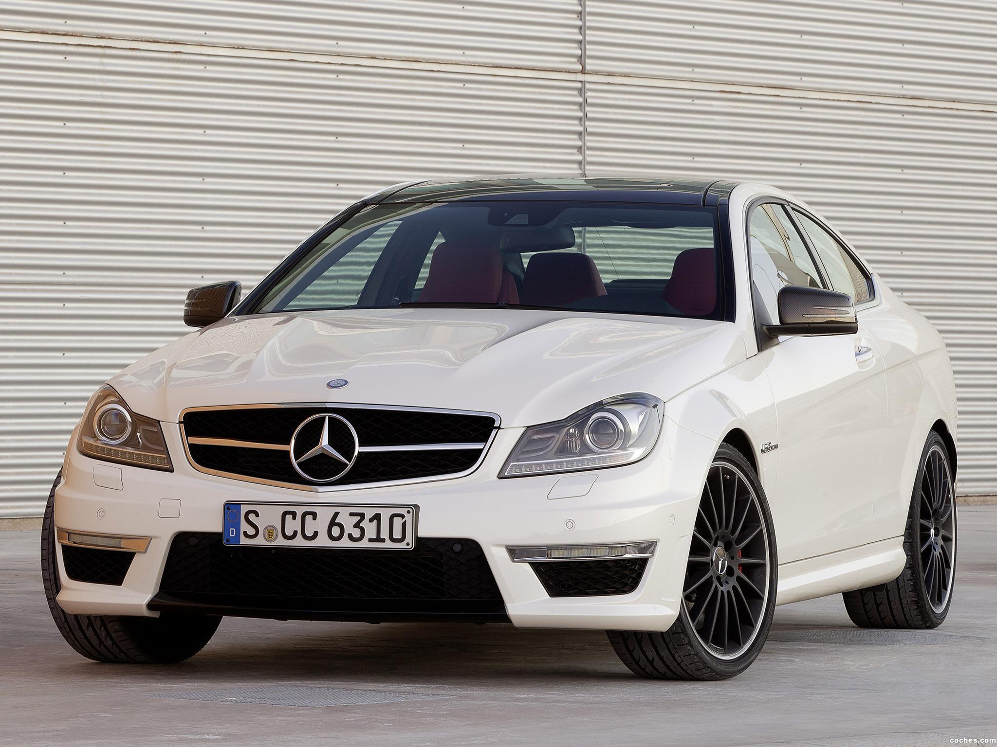 Foto 14 de Mercedes Clase C AMG C63 Coupe  2011