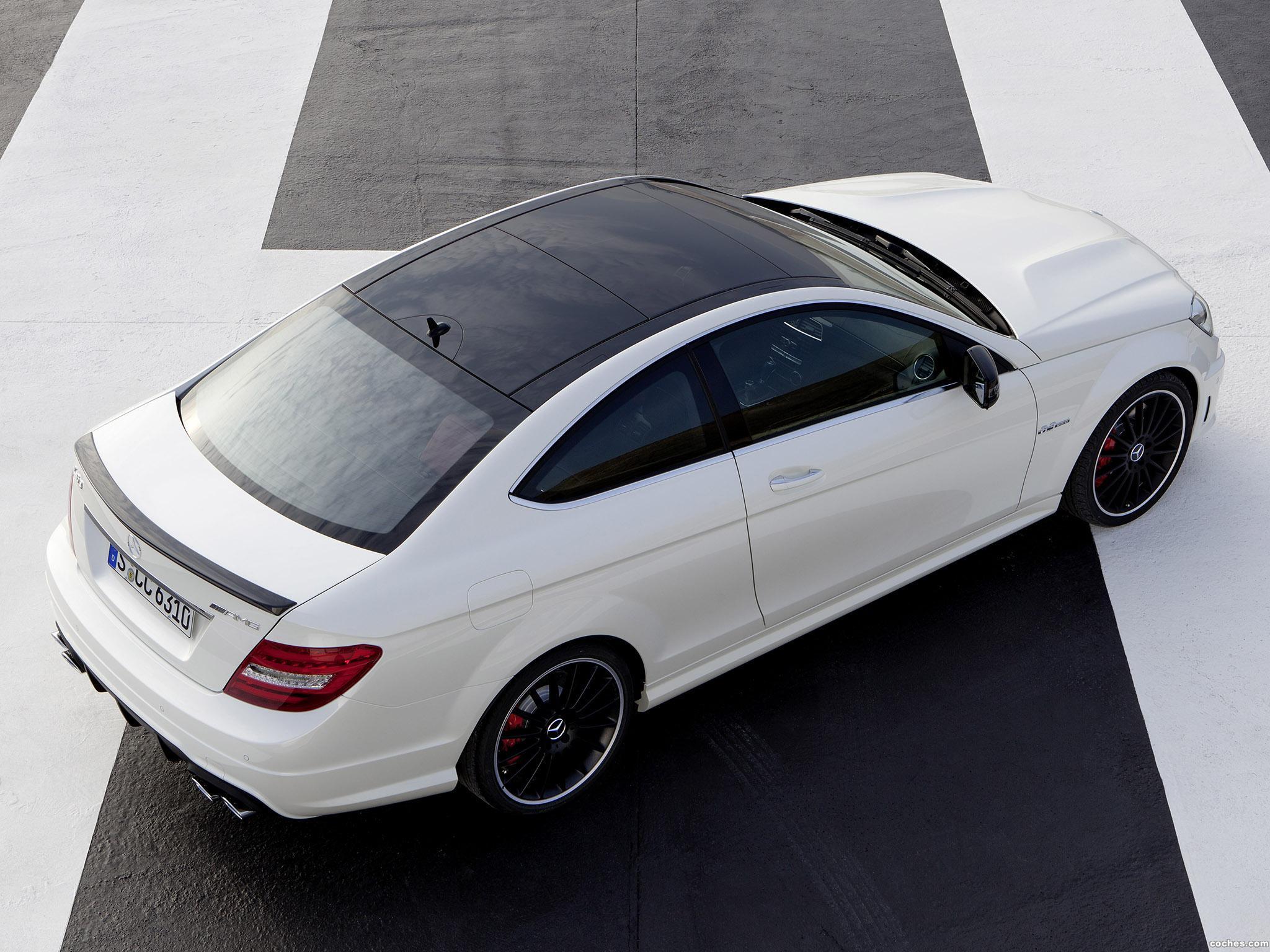 Foto 7 de Mercedes Clase C AMG C63 Coupe  2011