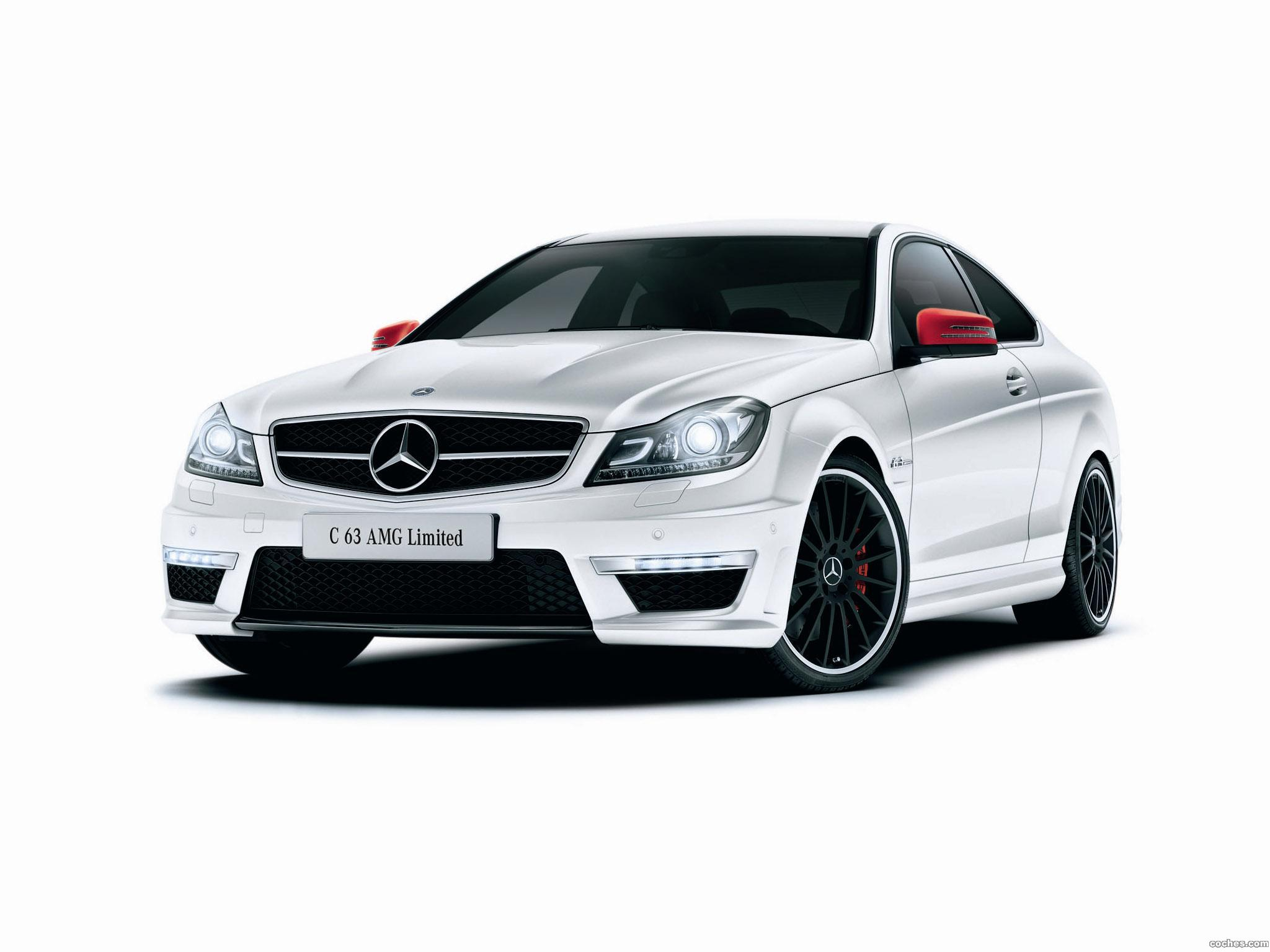 Foto 0 de Mercedes Clase C Coupe AMG C63 Limited C204 2013