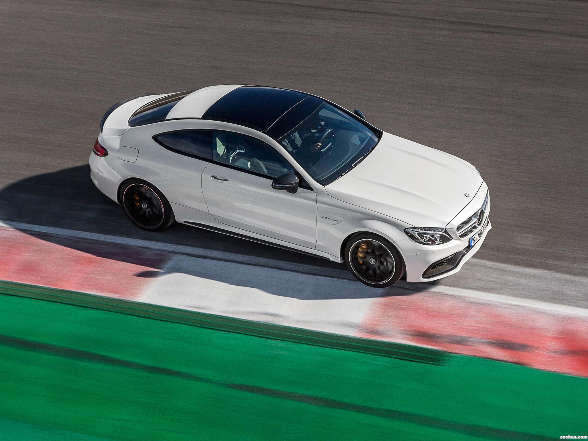Foto 12 de Mercedes AMG C63 S Coupe C205 2015