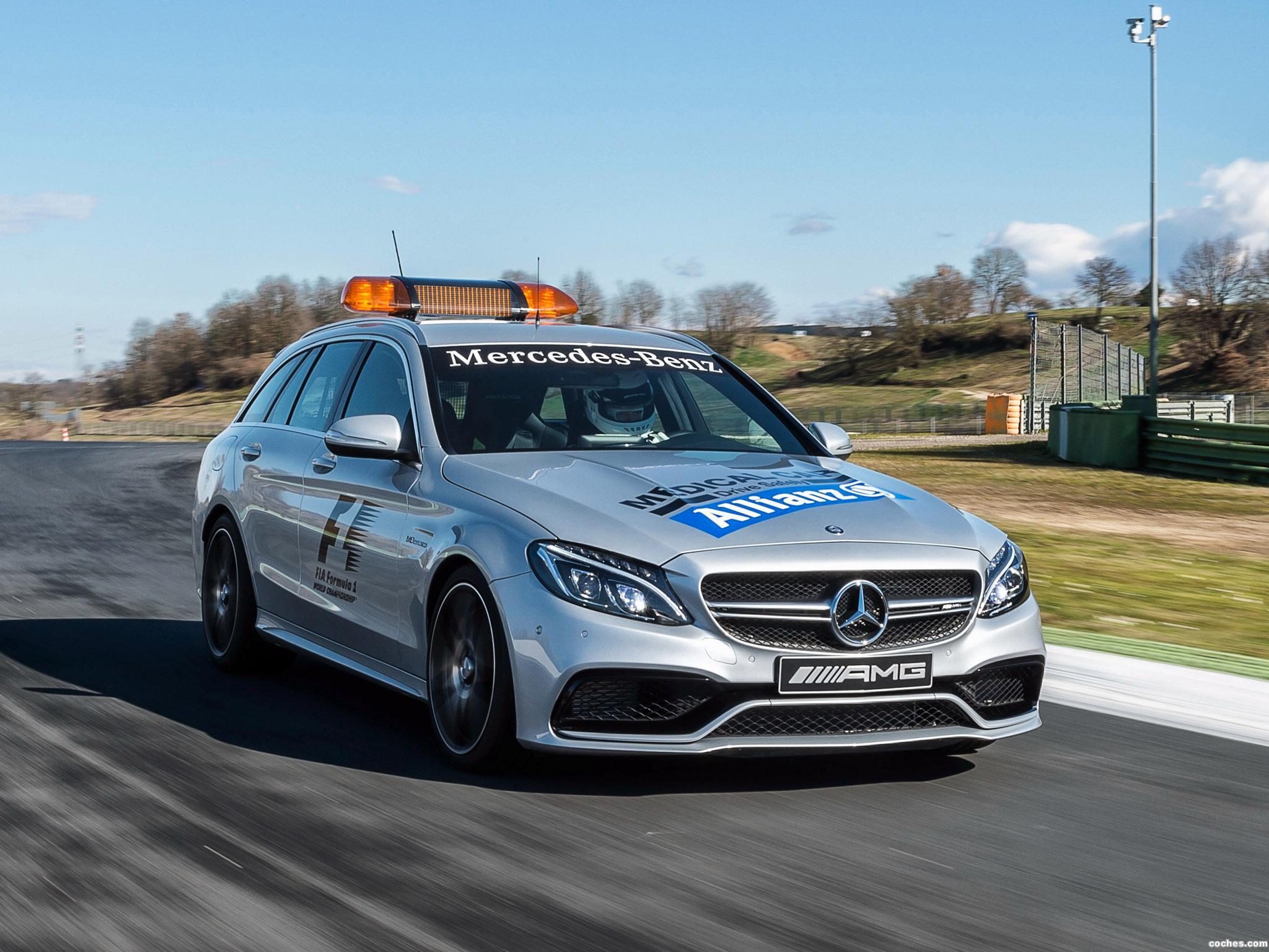 Foto 6 de Mercedes AMG C63 S Estate F1 Medical Car S205 2015