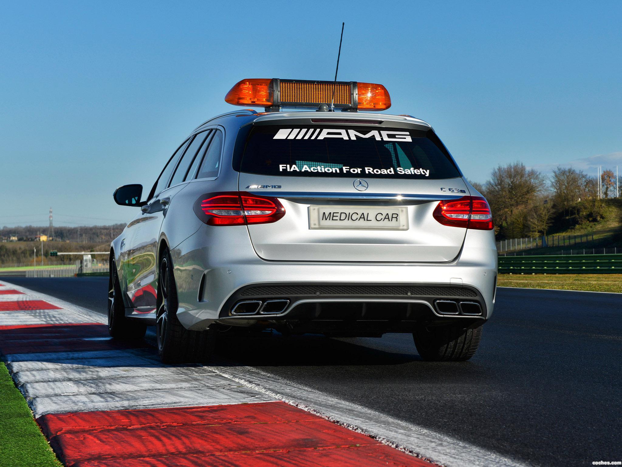 Foto 5 de Mercedes AMG C63 S Estate F1 Medical Car S205 2015