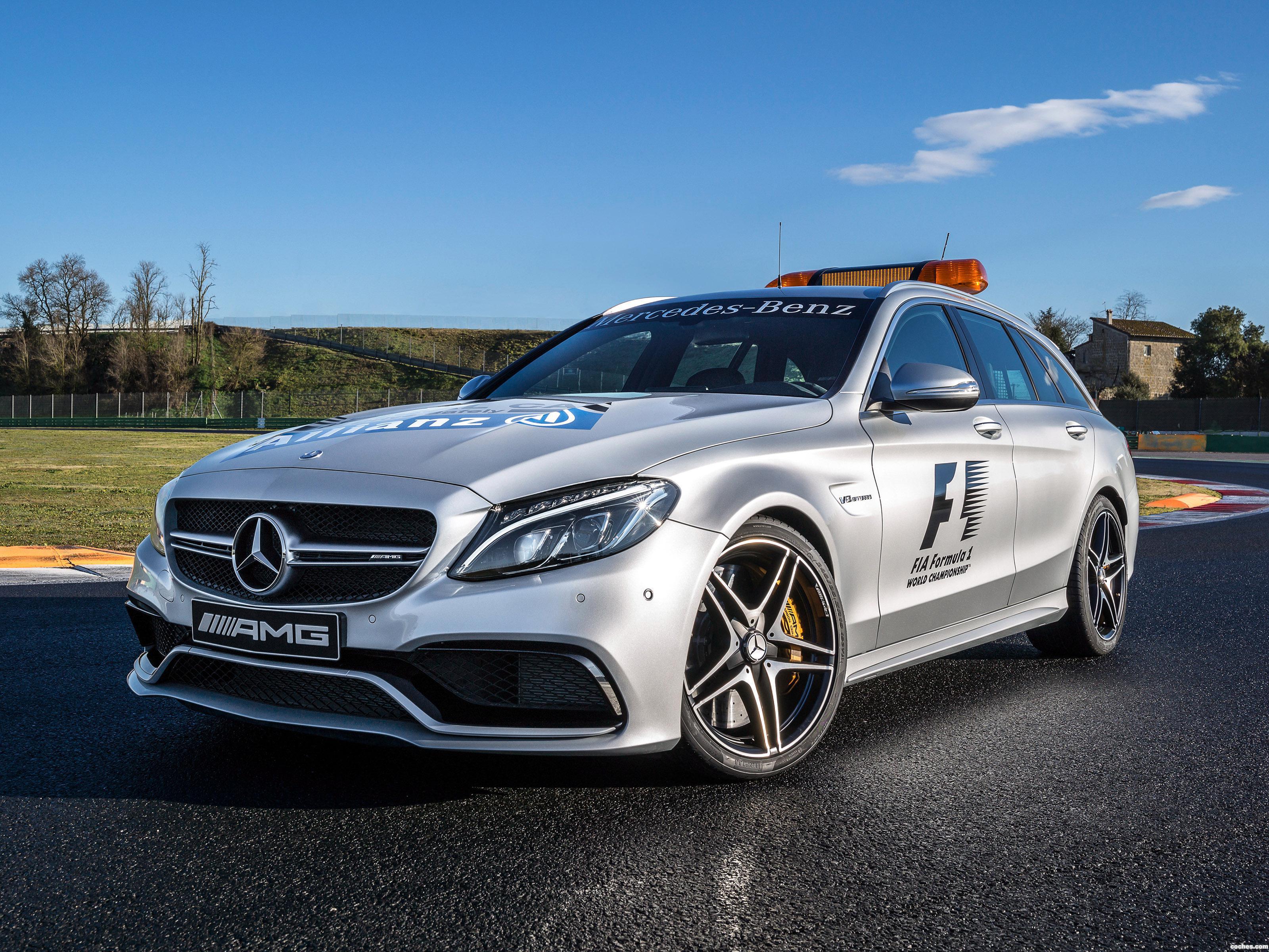 Foto 0 de Mercedes AMG C63 S Estate F1 Medical Car S205 2015
