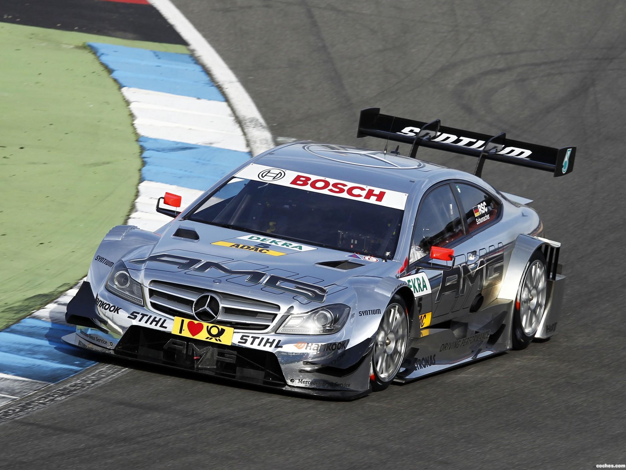 Foto 11 de Mercedes Clase C DTM C204 2012