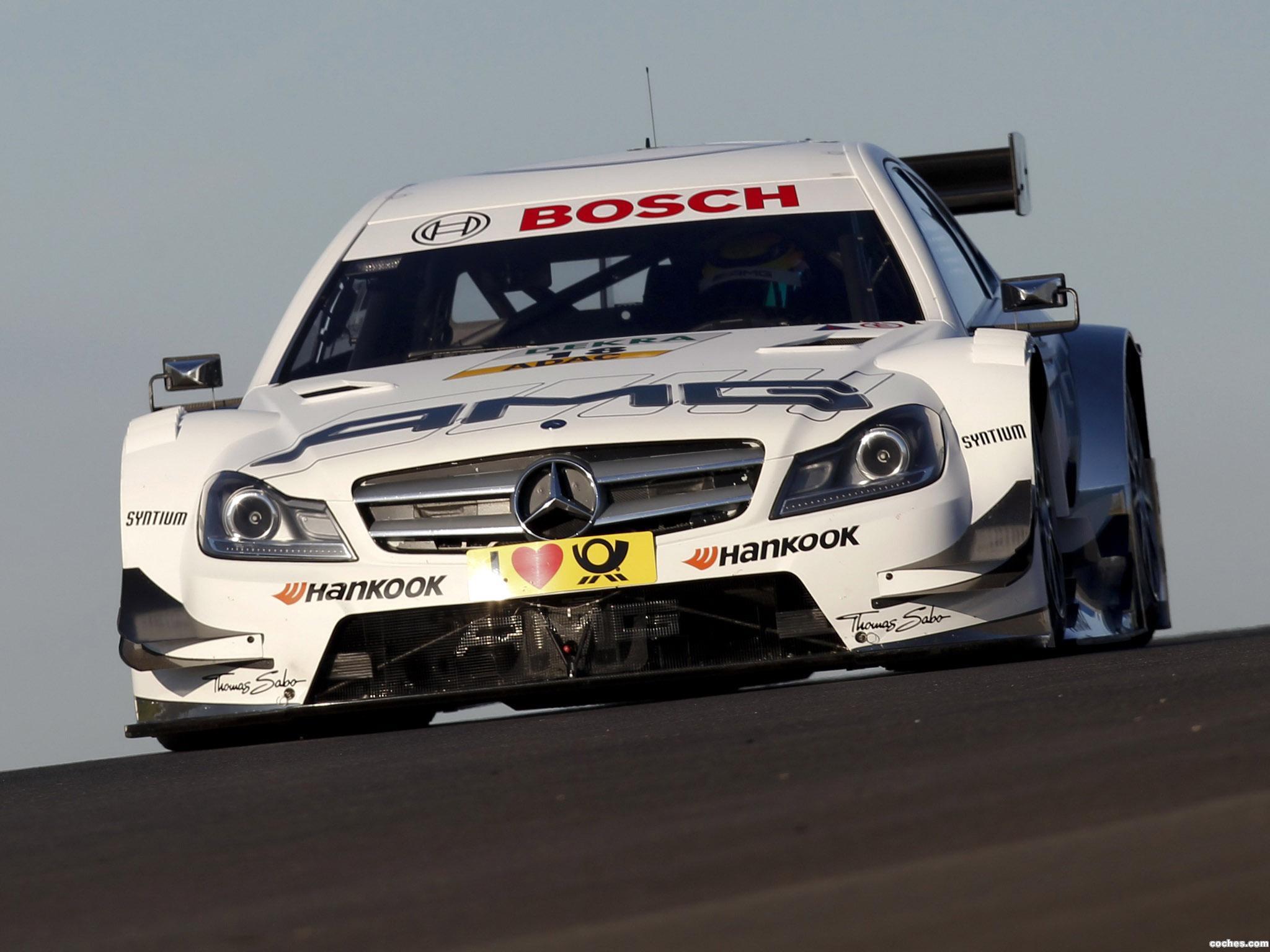 Foto 1 de Mercedes Clase C DTM C204 2012