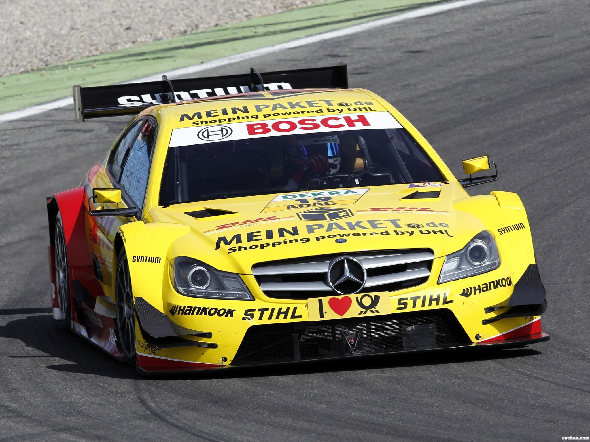 Foto 0 de Mercedes Clase C DTM C204 2012