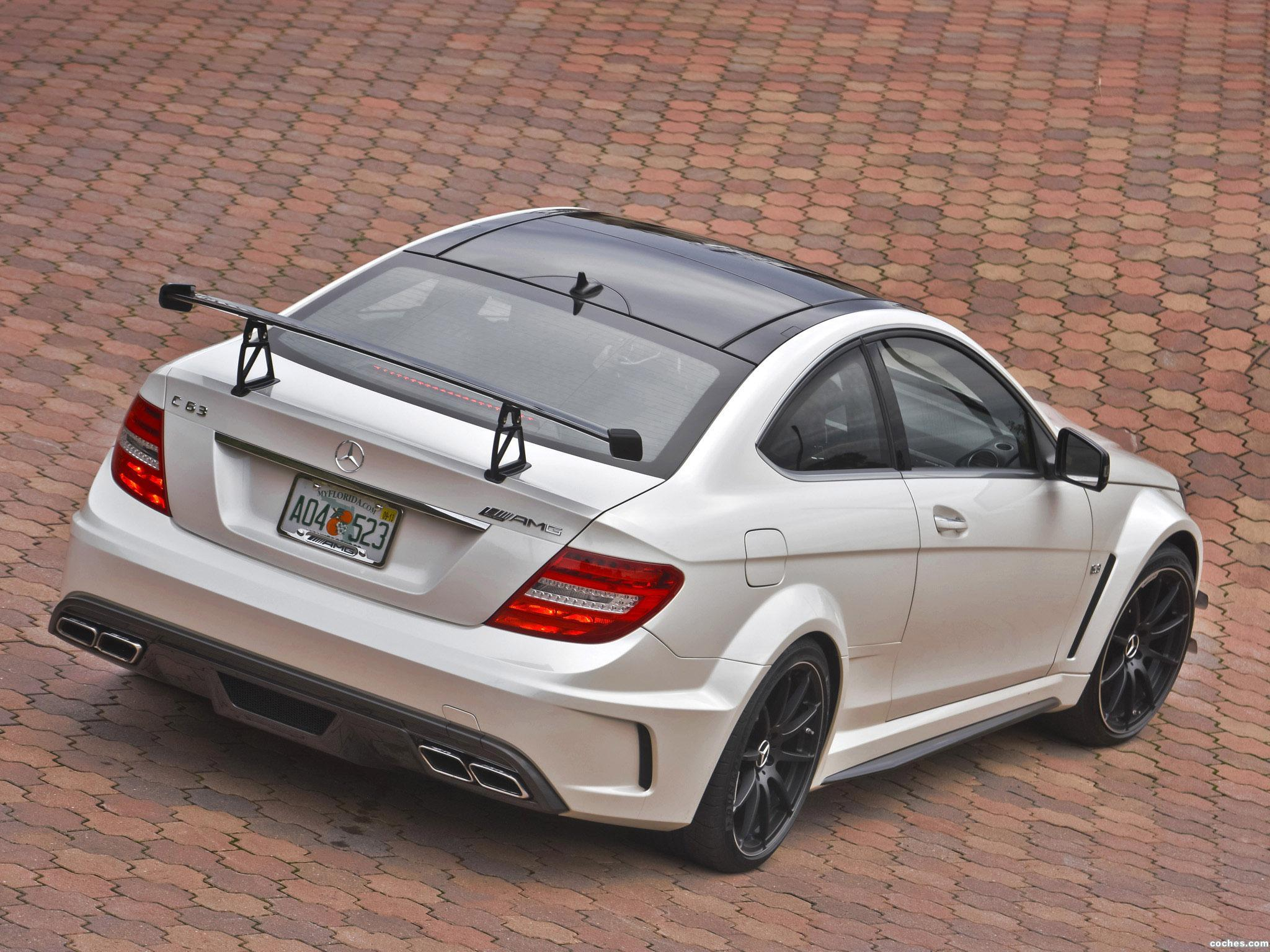 Foto 12 de Mercedes Clase C Coupe AMG C63 Black Series USA 2012