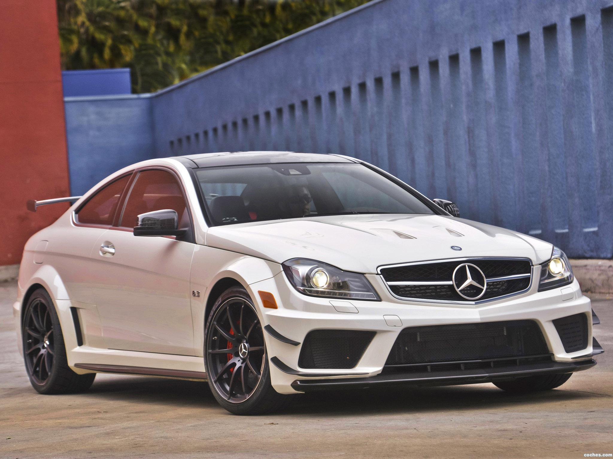Foto 0 de Mercedes Clase C Coupe AMG C63 Black Series USA 2012