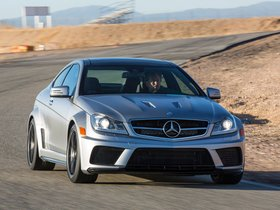 Ver foto 20 de Mercedes Clase C Coupe AMG C63 Black Series USA 2012