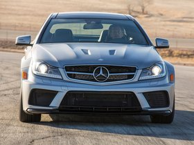 Ver foto 18 de Mercedes Clase C Coupe AMG C63 Black Series USA 2012