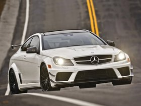 Ver foto 10 de Mercedes Clase C Coupe AMG C63 Black Series USA 2012