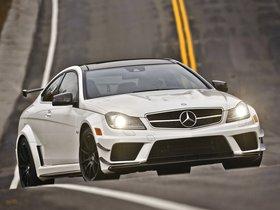 Ver foto 10 de Mercedes Clase C Coupe AMG C63 Black Series USA 2012