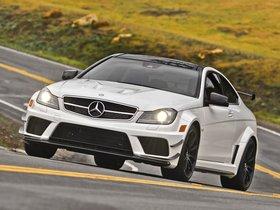 Ver foto 9 de Mercedes Clase C Coupe AMG C63 Black Series USA 2012