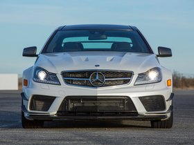 Ver foto 8 de Mercedes Clase C Coupe AMG C63 Black Series USA 2012